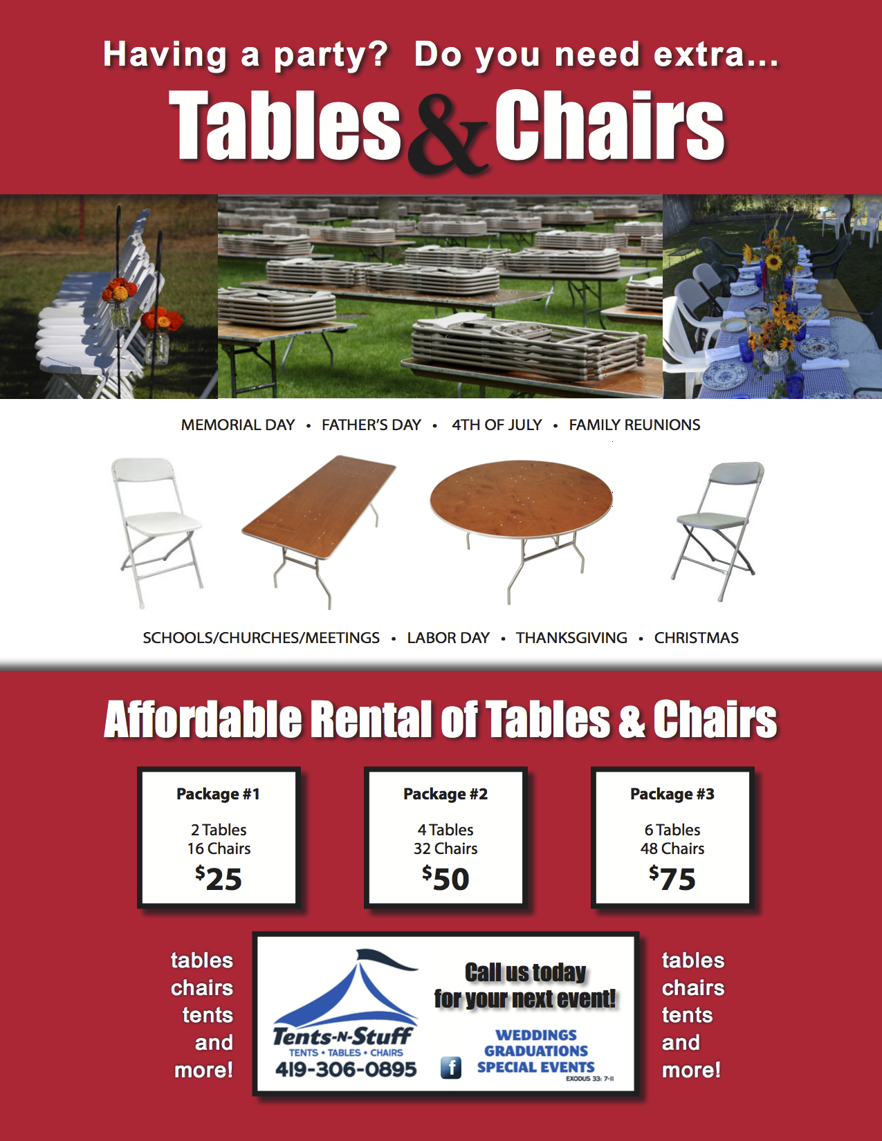 rentals chair party event city tables all and salt unique rental lake out chairs tent equipment