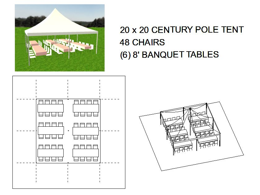 Genial 20×20 Table/Chair Layout ...